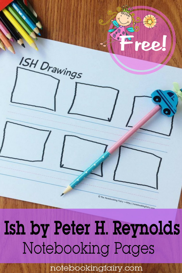 FREE Ish Drawings Notebooking Pages from the Notebooking Fairy!