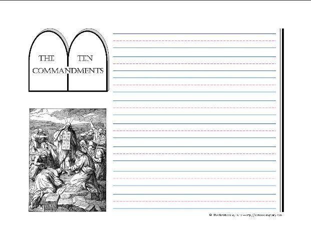 essay about ten commandments