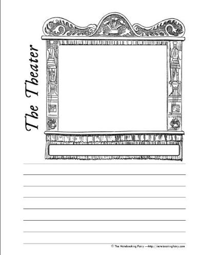 Theatre+Playbill+Template Romeo And Juliet Playbill Template Because a ...