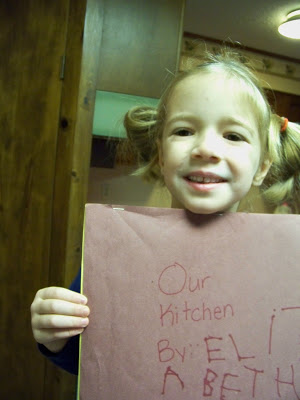 notebooking with a kindergartener