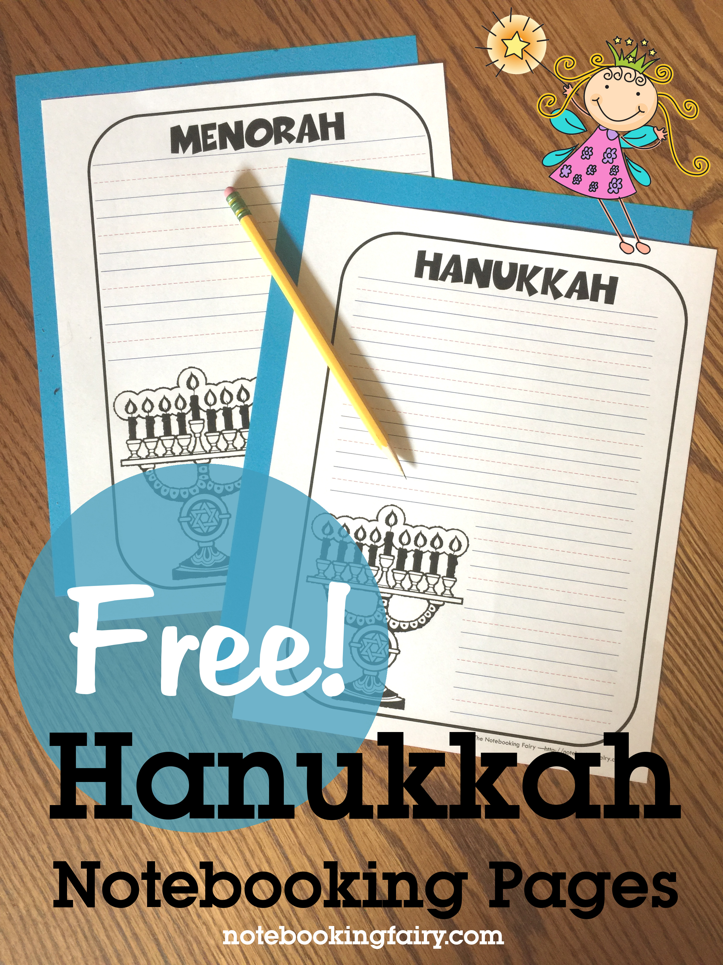 Chanukah (Hanukkah) Notebooking Pages for Homeschool • free from The Notebooking Fairy