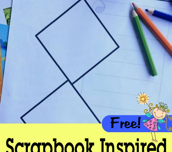 FREE Scrapbook Inspired Notebooking Pages from The Notebooking Fairy