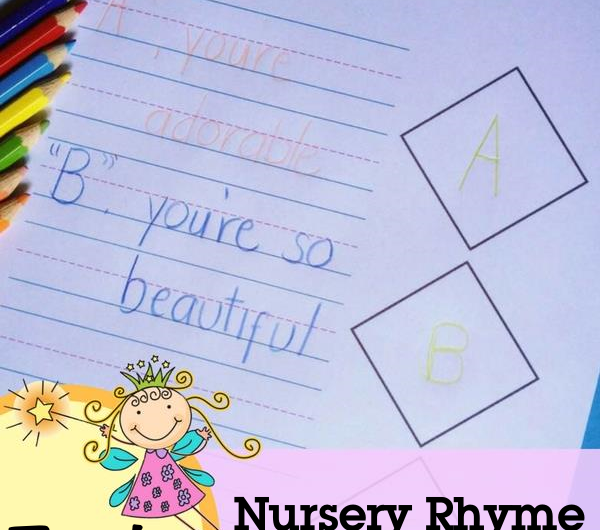 FREE Poetry Notebooking Pages: Nursery Rhymes from The Notebooking Fairy!