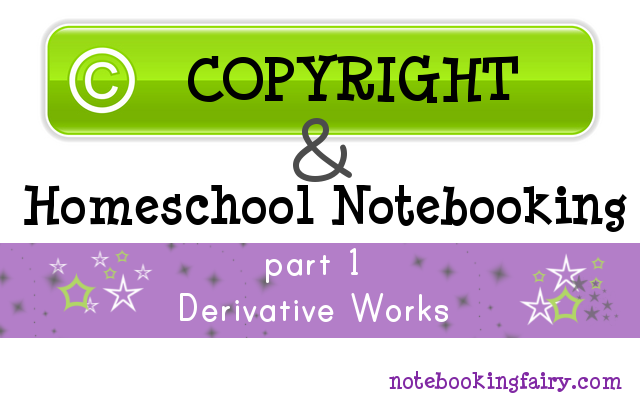 copyright for homeschool notebooking