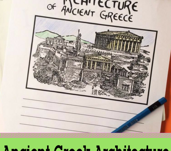 Ancient Greek Architecture Notebooking Pages FREE from the Notebooking Fairy!