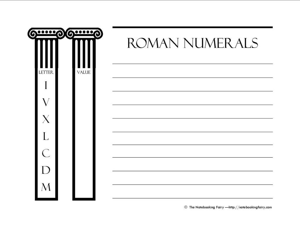 Roman Numerals 2012
