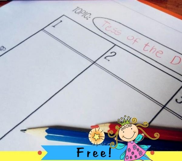 Graphic Organizers for Essay Prewriting FREE from The Notebooking Fairy!