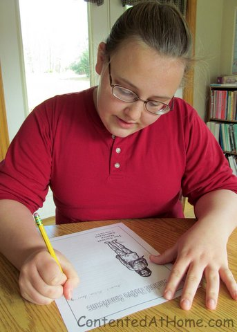 Notebooking with Mystery of History @judyhoch