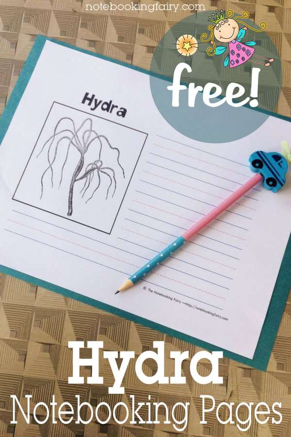 Hydra Notebooking Pages FREE from the Notebooking Fairy